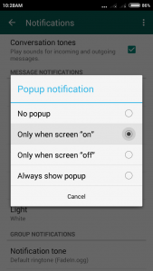 whatspp tricks: reply message without opening lock screen