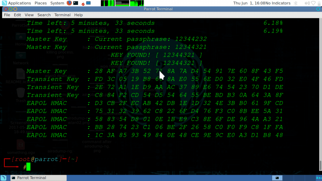 wpa password is hacked