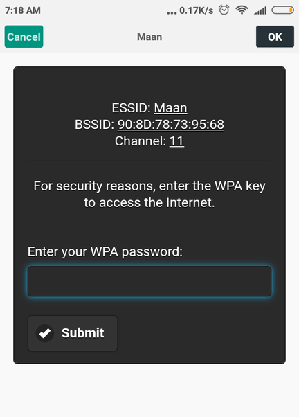 cracking wifi password using ubuntu
