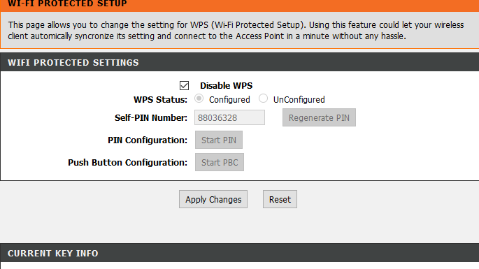 disable wps