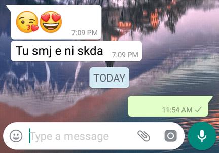 blank message whatsapp tricks