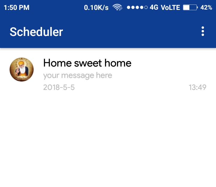 sucessful scheduling