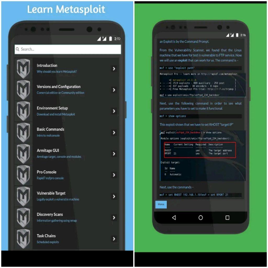 metasploit app