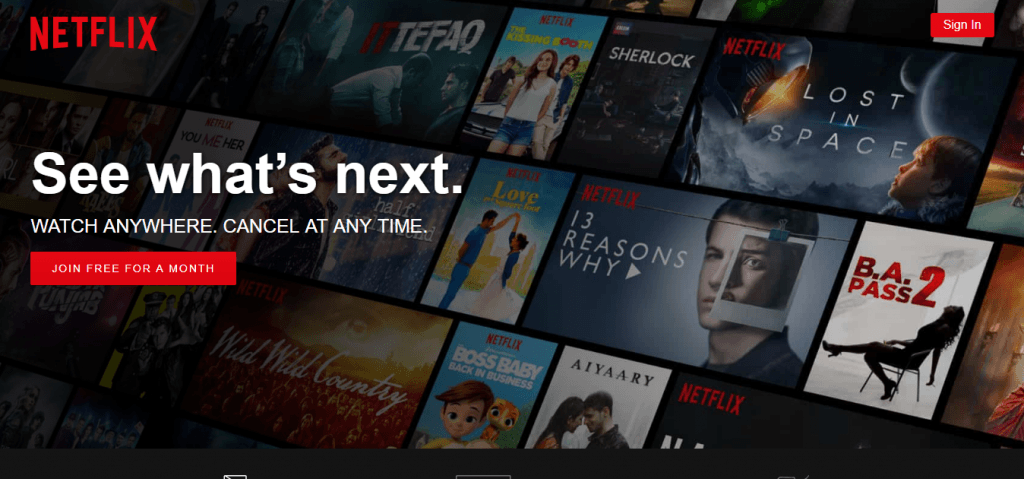 How to make free Netflix account