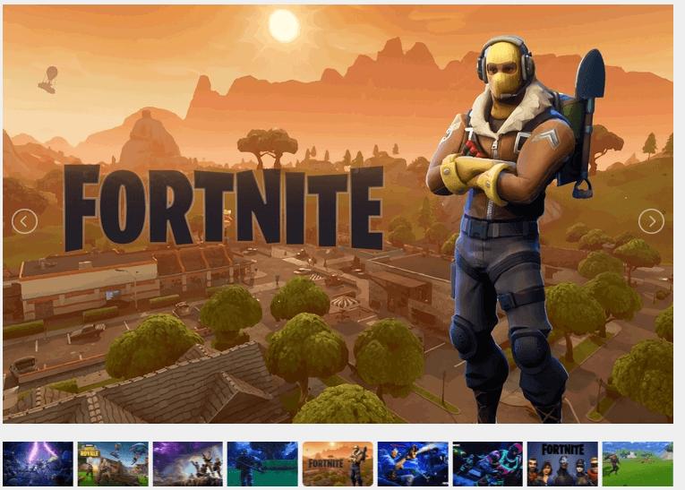 fornitate game wallpaper