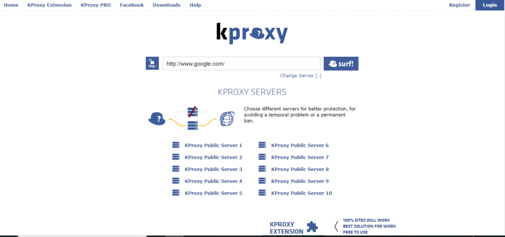 kproxy websites