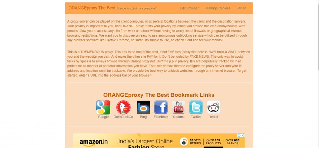 orange proxy