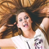 Crazy Girl hair in the air dp