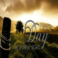 Every day is new start dp