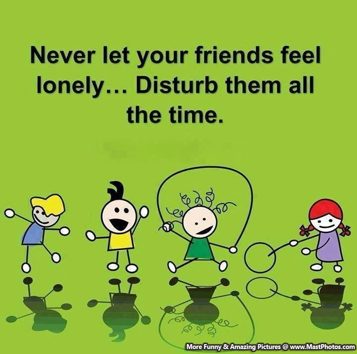 Friends disturb dp