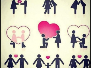 Whatsapp dp: How a couple start getting love each other then marriage and birth a childtrn