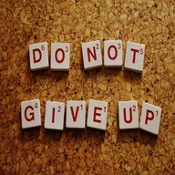 do not give up dp