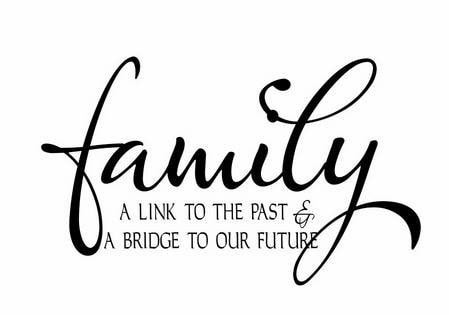 family a link to the past a bridge to your future