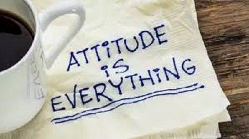 attitude is everything: whatsapp photo status