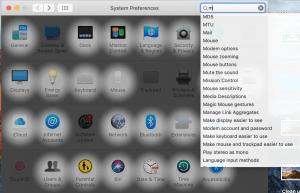 mac settings search