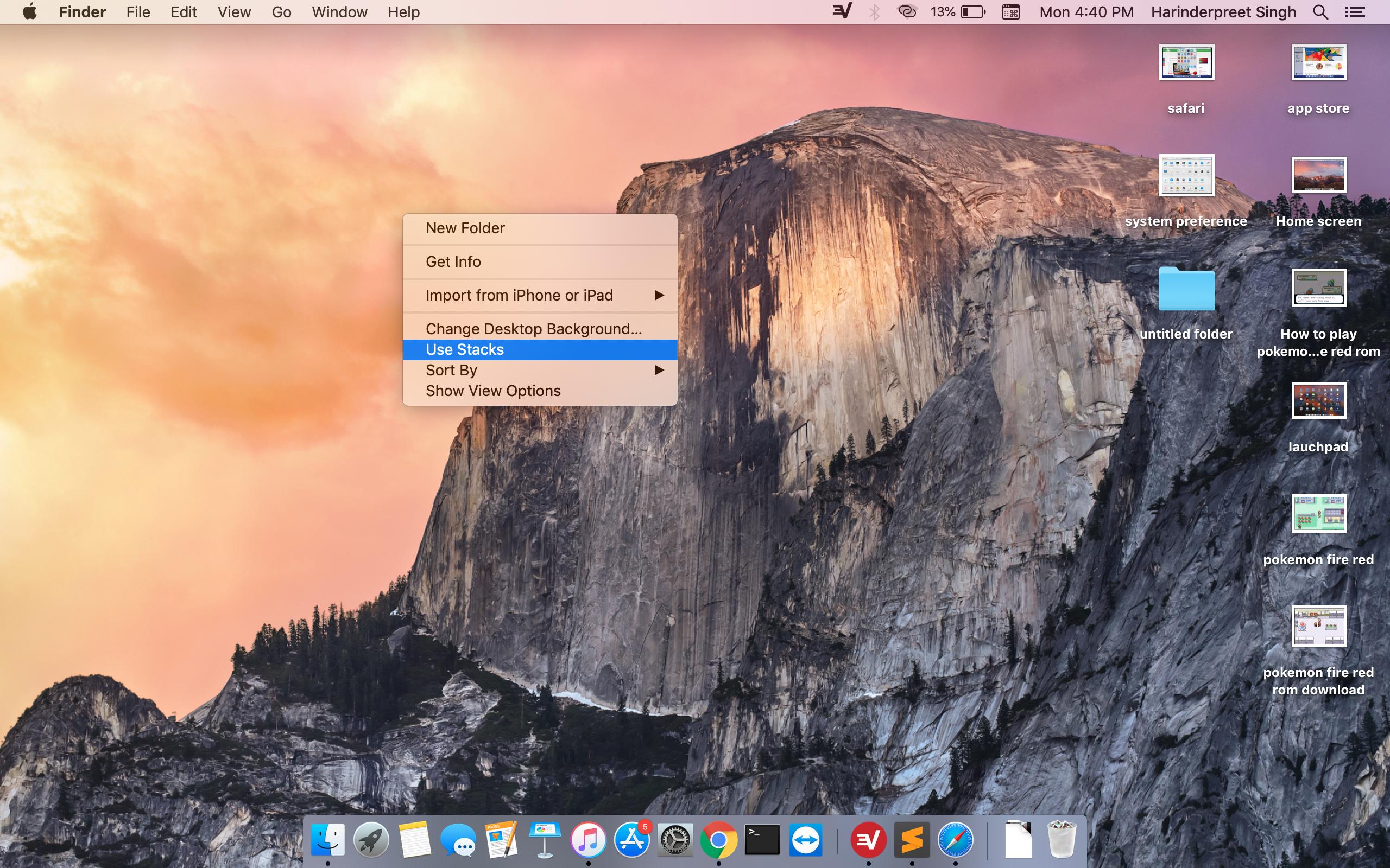 Mac Os Desktop