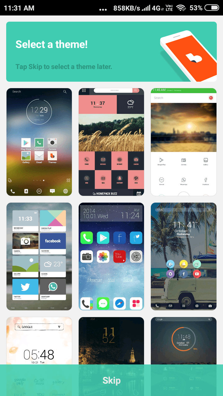 Buzz Launcher Apk For Android Free Download Latest version 5