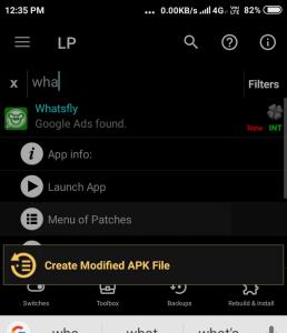 creating mod apk