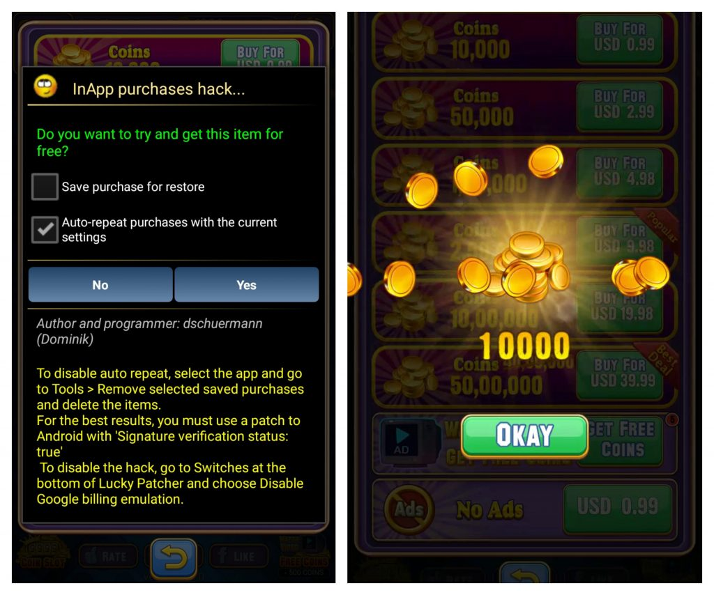 unlimited coin by lp apk