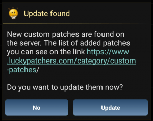 update patches