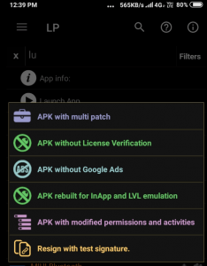 apk rebuilt for inApp and LVL emulation