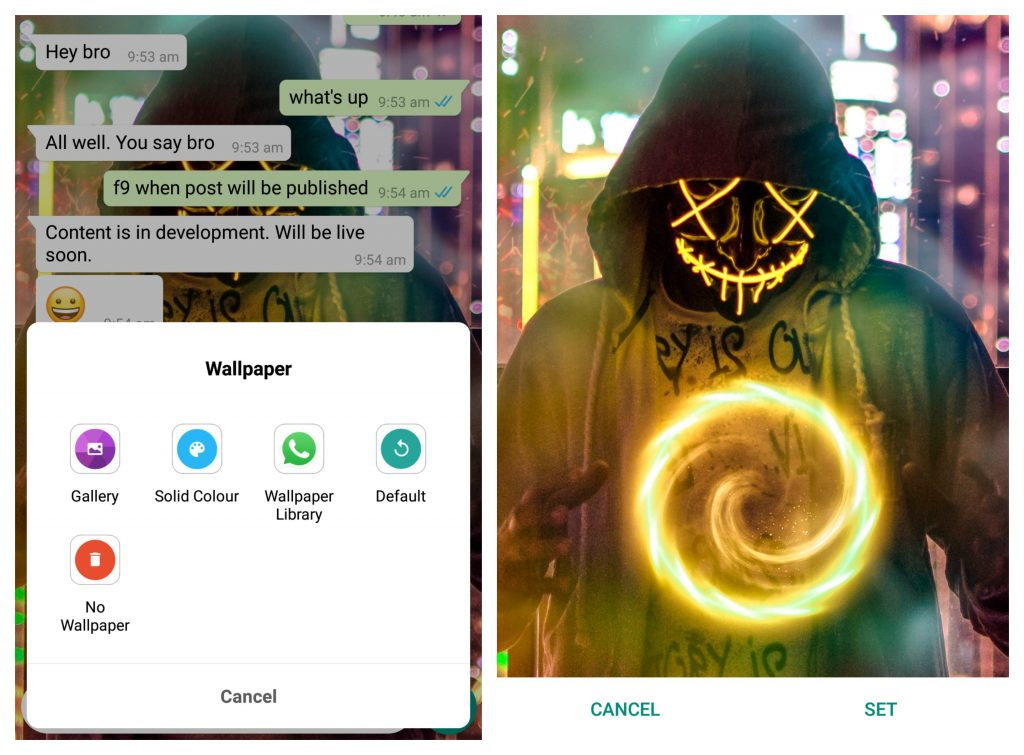 WhatsApp Wallpaper HD 2019 (Prefect Size) 1